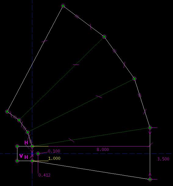 SketchFlat: 2d CAD, with Constraints